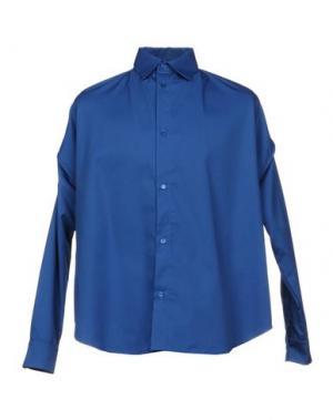Pубашка HBA HOOD BY AIR. Цвет: синий