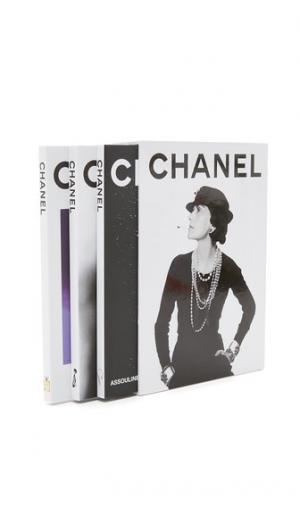 Комплект из трех книг Chanel Books with Style