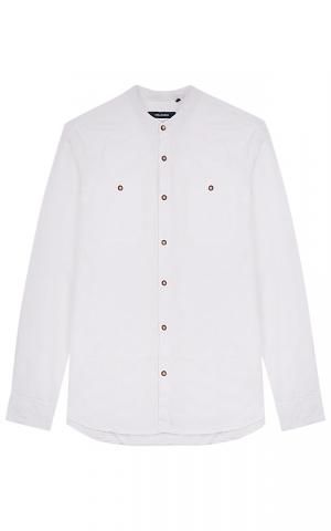 Мужская белая рубашка Jorg weber