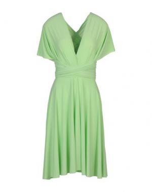 Короткое платье VON VONNI. Цвет: светло-зеленый