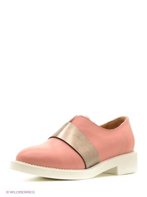 Ботинки Pixy. Цвет: бледно-розовый
