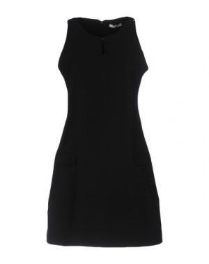 Короткое платье YES ZEE by ESSENZA. Цвет: черный