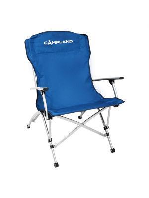 Кресло складное ЛЮКС Campland. Цвет: синий
