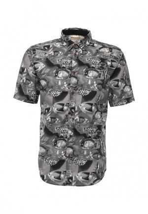 Рубашка Anerkjendt. Цвет: серый