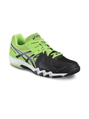 Кроссовки GEL-BLADE 5 ASICS. Цвет: зеленый, серый, черный