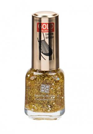 Лак для ногтей Brigitte Bottier. Цвет: золотой