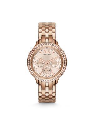 Часы Armani Exchange. Цвет: красный, золотистый