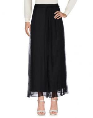 Длинная юбка BEAYUKMUI. Цвет: черный
