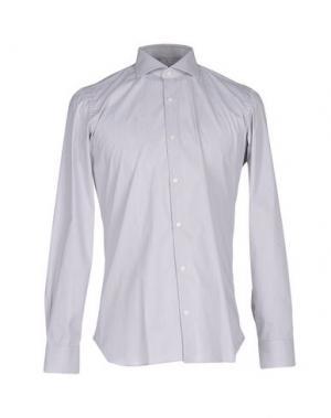 Pубашка GIAMPAOLO. Цвет: светло-серый