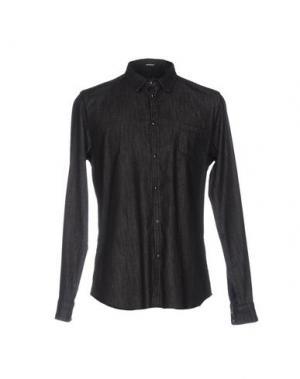Джинсовая рубашка OFFICINA 36. Цвет: стальной серый