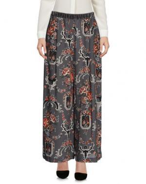 Повседневные брюки SUOLI. Цвет: серый