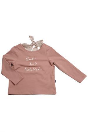 Блузка MINI-MAXI. Цвет: розовый