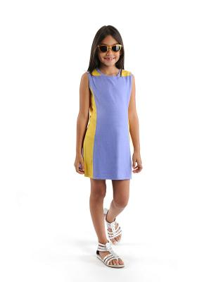 Платье Appaman. Цвет: сиреневый, желтый