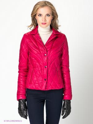 Куртка QUIOSQUE. Цвет: малиновый
