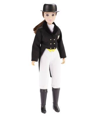 Кукла Меган в одежде для выездки Breyer. Цвет: черный, коричневый, белый