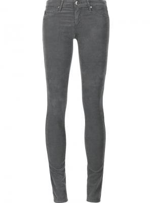 Джинсы кроя скинни Ag Jeans. Цвет: серый