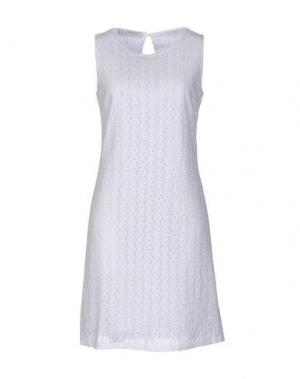 Короткое платье ZANETTI 1965. Цвет: белый