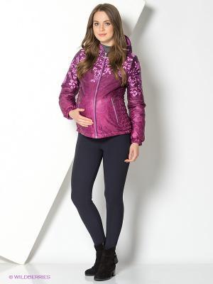 Куртка I love mum. Цвет: бордовый, розовый