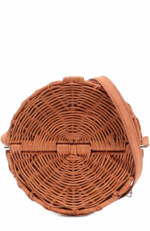 Плетеная сумка Baan Rachel Comey. Цвет: бежевый