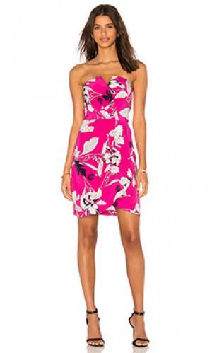 Платье date night Yumi Kim. Цвет: розовый
