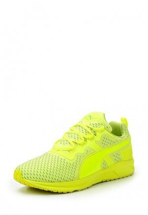 Кроссовки Puma. Цвет: зеленый