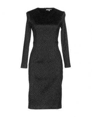 Платье до колена ANGEL SCHLESSER. Цвет: черный