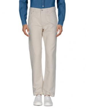 Повседневные брюки CLUB MONACO. Цвет: слоновая кость