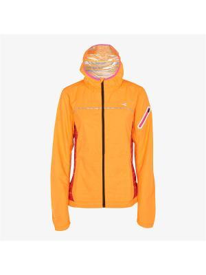 Куртка DIADORA. Цвет: оранжевый