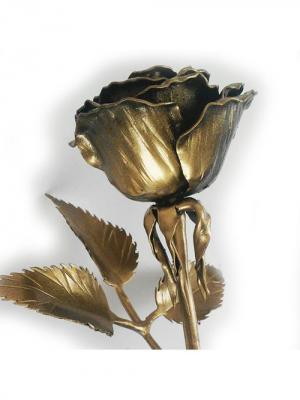 Роза Chic a loco. Цвет: черный, антрацитовый, золотистый