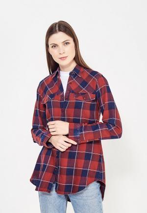 Рубашка Whitney. Цвет: красный