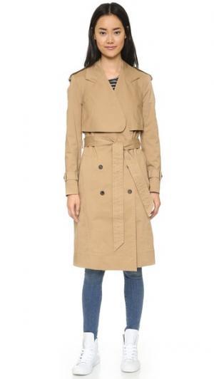 Пальто-тренч Hudson 1 O'2nd. Цвет: бежевый