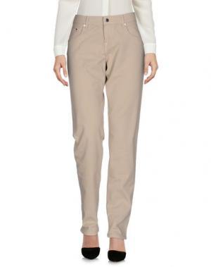Повседневные брюки VANESSA BRUNO ATHE'. Цвет: светло-серый