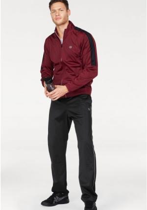 Спортивный костюм SPECIAL POLY WARPKNIT SEMIDULL. Цвет: красный/черный