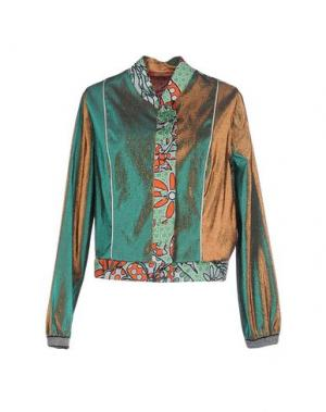 Пиджак DV ROMA. Цвет: зеленый