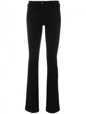 Расклешенные брюки Love Moschino. Цвет: чёрный