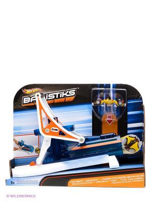 Машинка-трансформер Hot Wheels Ballistiks Mattel. Цвет: белый, синий, оранжевый