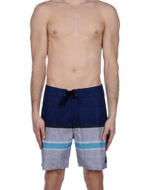 Пляжные брюки и шорты RIPCURL. Цвет: темно-синий