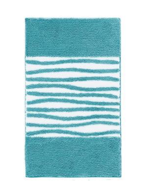 Коврик для ванной MORGAN 60x100 Aquanova. Цвет: голубой