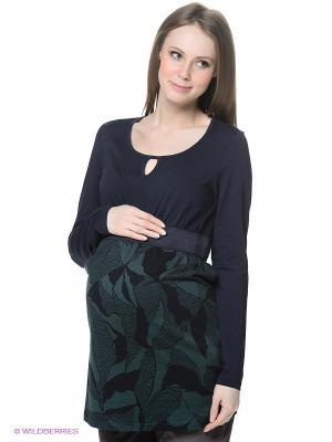 Платье ESPRIT. Цвет: зеленый, темно-синий