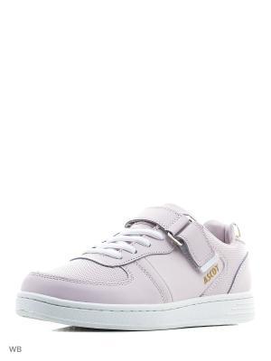 Кроссовки Ascot. Цвет: бледно-розовый