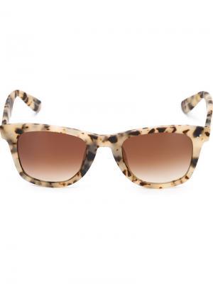 Солнцезащитные очки Charles Krewe Du Optic. Цвет: телесный