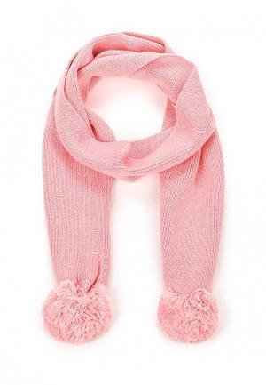Шарф Sela. Цвет: розовый