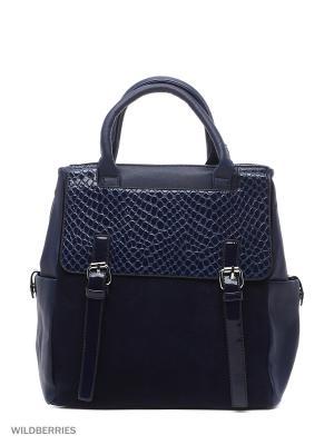 Сумка-рюкзак Sofiya. Цвет: синий