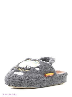 Тапочки детские Dream Feet. Цвет: серый