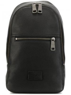 Рюкзак на молнии Coach. Цвет: чёрный
