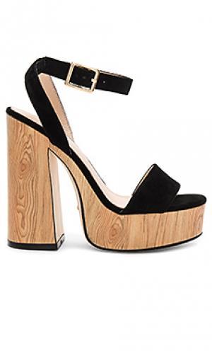 Туфли на платформе shayla RAYE. Цвет: черный