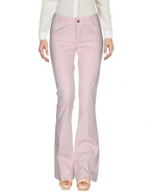 Повседневные брюки ANOTHER LABEL. Цвет: розовый