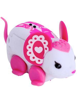 Интерактивная мышка Little Live Pets Bella Tina Moose. Цвет: розовый
