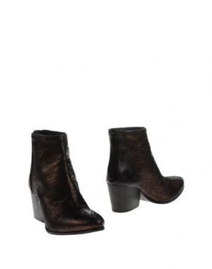 Полусапоги и высокие ботинки FIORIFRANCESI. Цвет: темно-коричневый