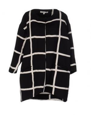 Легкое пальто VALENTINE GAUTHIER. Цвет: черный